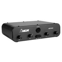 Amplificador Ll Audio Nca Ab 50 2 Bandas 50w 4 Ohms Bivolt