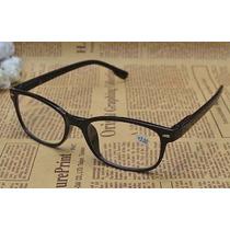 Óculos Barato P/ Leitura Grau 1.50 Vintage Preto Barato