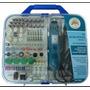 Kit Micro Mini Retifica Furadeira Politriz Lixadeira 220volt