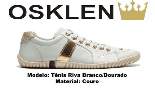 7dad73a85 Sapatenis Osklen Tenis Riva Bold Em Couro 100% Original (Osklen) a ...
