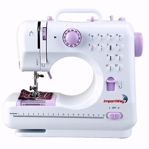 Máquina De Costura Portátil Compact 110v/220v Importway