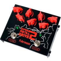 Pedal Fuhrmann Sm02 Super Metal Drive 2 - Pd0796