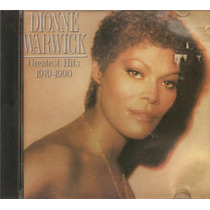 Cd Dionne Warwick - Greatest Hits 1979-1990