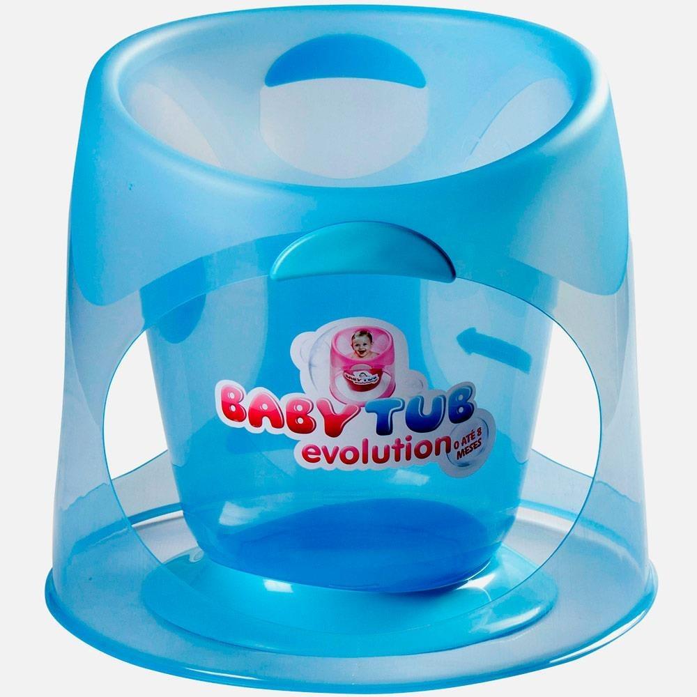 Banheira Ofuro Banho Bebe Babytub Evolution Baby Tub - R$ 113,90 ...