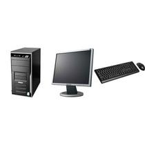 Cpu Completa Diebold Core 2 Duo 2gb Hd 80gb + Monitor Lcd 17