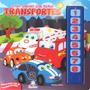 Livro Infantil Sonoro Com Rimas Transportes História Narrada