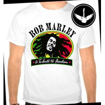Camiseta Bob Marley Baby Look Camisa Blusa Reggae