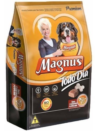 Promocão Ração Premium Magnus Todo Dia 25kg + Brinde
