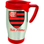 Caneca Térmica Alumínio Personalizada Time Flamengo 500ml