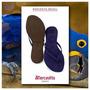 Mercedita Shoes Flats Rasteirinha Brasileirinha Azul Royal