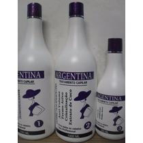 Kit Escova Progressiva Argentina - 3 Produtos