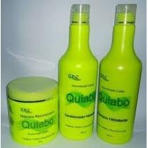 Kit Reconstrução Quiabo - Cdc Cosmeticos 500ml