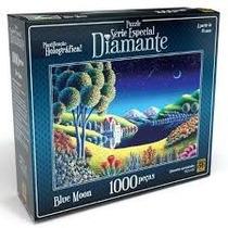 Quebra-cabeça - Blue Moon Série Especial Diamante - 1000 Peç