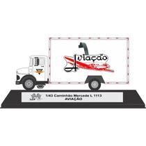 Adesivo Decalque Ad 374 143 Caminhão Mercedes L 1113 Aviacao