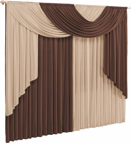 Cortina Elegance 3 00x2 80 Para Sala Ou Quarto