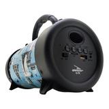 Caixa Som Amplificada Bluetooth Canhão 300w Mp3 Fm Usb Sd P2