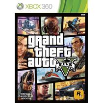 Gta 5 V Grand Theft Auto Xbox Português Mídia Física Xbox360