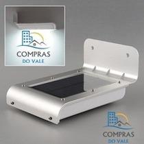 Sensor De Luz Externo (parede) 16 Led Solar Sensor Movimento