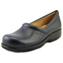 Softwalk Adora Mulheres N / S Sapato Azul Andar Rodada Toe C