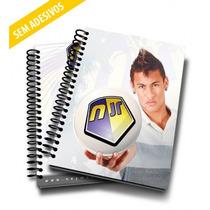 Caderno 12m 240f Neymar Jr