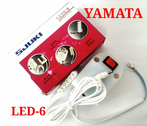Promoção:máquina De Costura Industrial Reta Yamata+led Brind