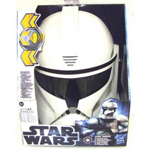 Star Wars Mascara Eletronica Clone Trooper Hasbro