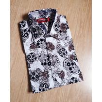 56635cc9f Busca Camisa caveira mexicana masculina com os melhores preços do ...