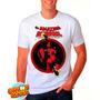 Camiseta Branca Deadpool Quadrinhos Hq Engraçada 353