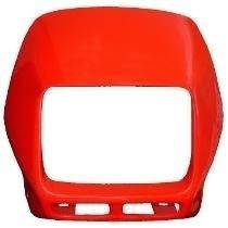 Carenagem Do Farol Honda Nx 150 / 200 - Verme 96- S/ Adesivo