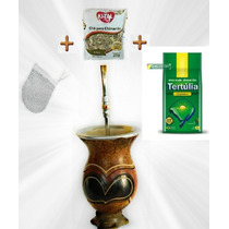 Spc2-kit Suprema Chimarrão Cuia+bomba+filtro+erva+chá+manual