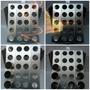Suporte P/ Assar Pizza Cones Recheados Com 20 Cavidades