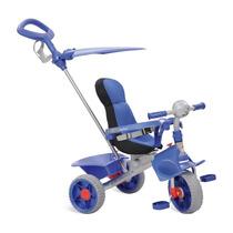 Triciclo Infantil Smart Empurrador Motoca Carrinho Passeio