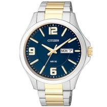Relógio Masculino Citizen, Pulseira De Aço Tz20537a