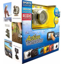 Camera Filmadora Digital Action Camcorder Sport Prova Dágua