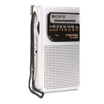 Rádio Am Fm Portátil Sony Icf-s10 Mk2