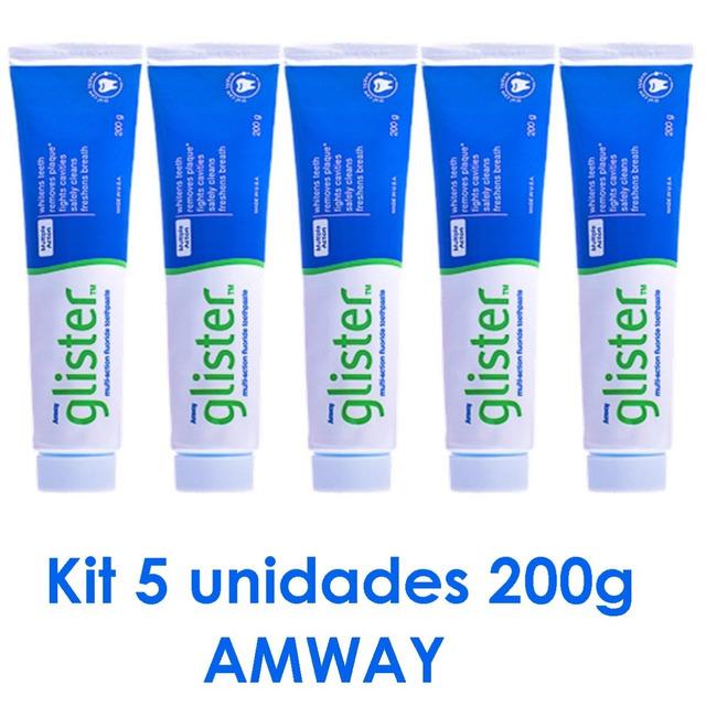 Creme Dental Glister Da Amway 5 Unidades O Melhor Do Mundo Em