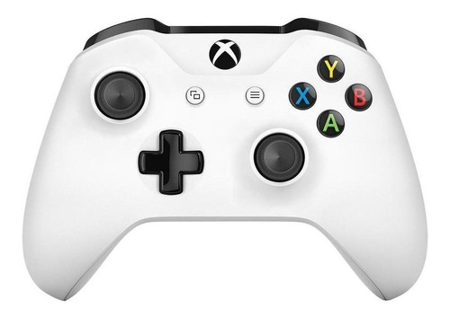 Controle Joystick Sem Fio Microsoft Xbox One White