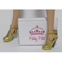 Sandália Dourada Barbie
