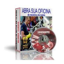 Curso De Mecânica De Motos Yamaha Ybr 125 Cb 300r Em 15 Dvds