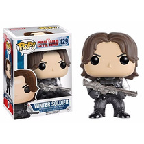 Capitão America Guerra Civil: Winter Soldier Pop - Funko