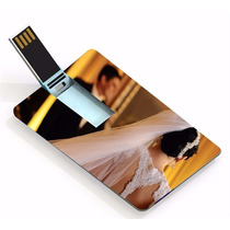 50 Un Pen Drive Cartão ( Pen Card ) 8gb, Personalizado