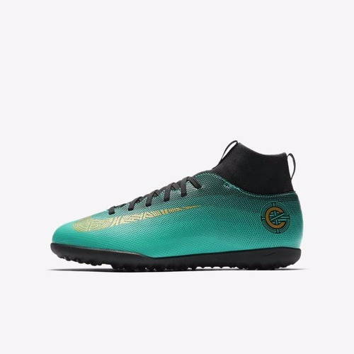 71accf2710 Chuteira Nike Mercurial Superfly 6 Club Cr7 Tf Infantil + Nf - R ...