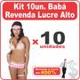 Fantasia Babá Sensual Kit Revenda Atacado 10un Lucre Alto