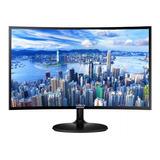 Monitor Samsung C24f390fhl Led 23.5  Preto 110v/220v (bivolt)