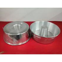 Forma Cone Para Bolo, Pudim Aluminio De Alta Qualidade