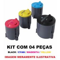 Kit Cartucho Toner Compativel Xerox Phaser 6110 Novo C/ 04