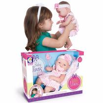 Boneca Baby Ninos Bebê Recém Nascido Com Certidão