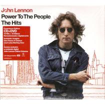 Cd + Dvd John Lennon - Power To The People The Hits - Novo**