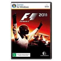 Jogo F1 2011 / Formula 1 11 - Pc Dvd Box - Original Lacrado