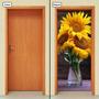 Adesivo Decorativo De Porta - Girassol - 491mlpt